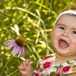 Bebés descubriendo la naturaleza - Colchón de Cuna