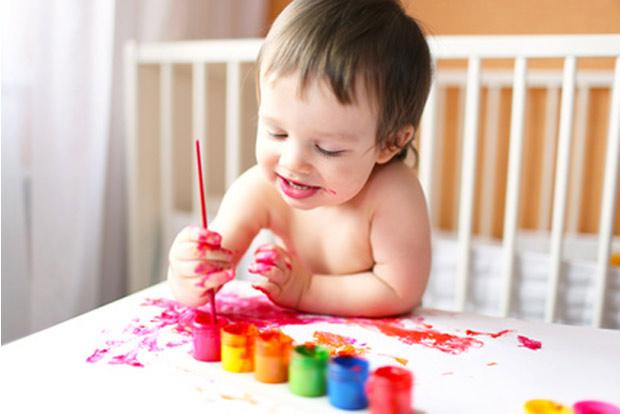 Manualidades en los niños- Colchón de cuna