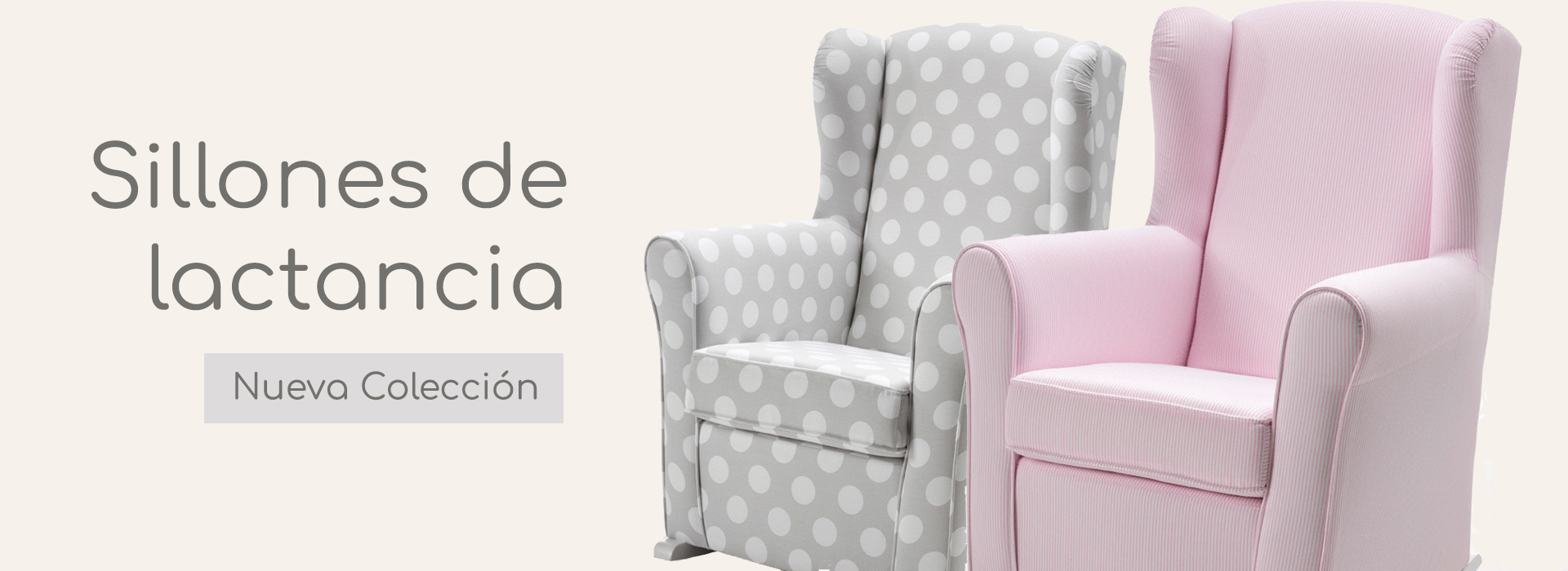 sillón de lactancia
