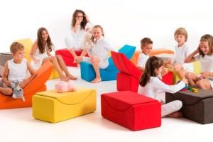 Los sillones para niños son un éxito seguro