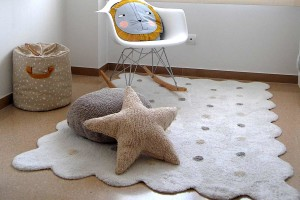 cómo limpiar alfombras infantiles