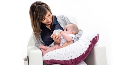 cojín maternal de lactancia