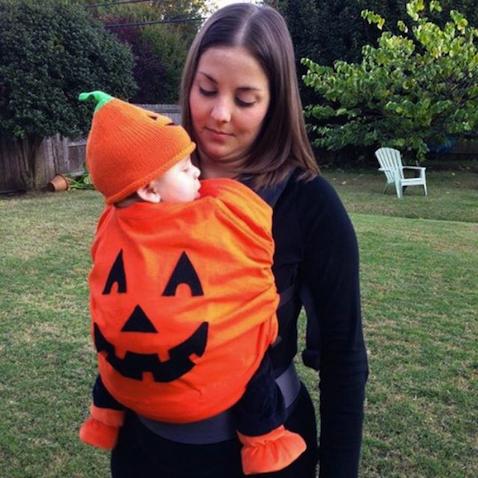 portabebé halloween