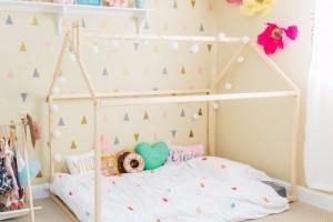 Beneficios de una cama Montessori para nuestro bebé