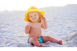 Cómo proteger a tu bebé del sol este verano