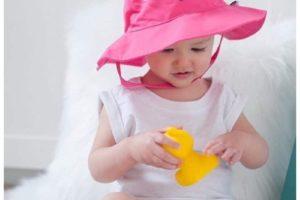Cuidados del bebé para verano