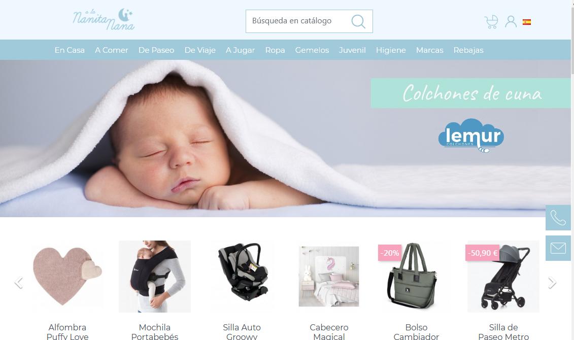 Alananitanana es la mayor tienda online de bebés